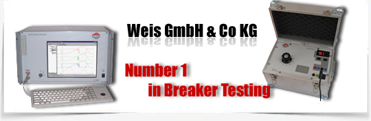 Weis GmbH Number ONE in Breaker Testing